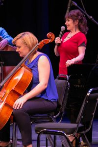 Ensemble Vivant's pianist Catherine Wilson and cellist Sybil Shanahan. Photo by Marion Voysey