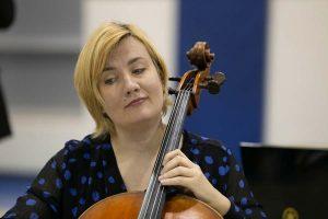 Sybil Shanahan, cello