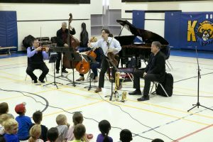 Euterpe performs at Dr. C.F. Cannon PS