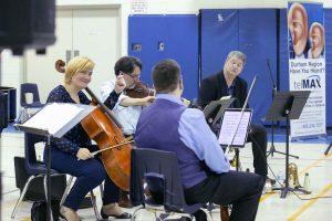 Euterpe/Ensemble Vivant performers: Catherine Wilson, piano; Corey Gemmell, violin; Norman Hathaway, viola; Sybil Shanahan, cello; Jim Vivian, bass; Kevin Turcotte, trumpet.