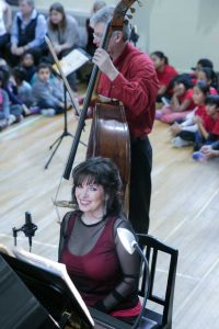 Catherine Wilson, piano and Jim Vivian, bass