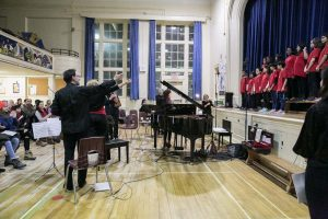Evening concert for the St. James Town community performed by Ensemble Vivant and the St. James Town Children's Choir.