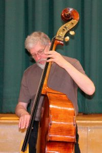 Don Thompson, bass in performance