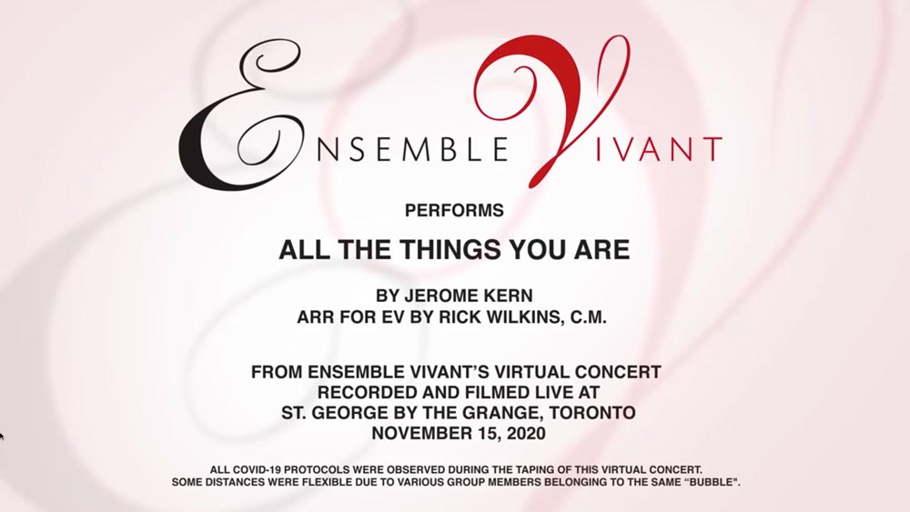 Ensemble Vivant Playing All the Things You Are
